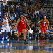 Washington Mystics Rookie Center Stefanie Dolson (31), CENTER, steals the ball in second half of an WNBA preseason basketball game between the Chicago Sky and the Washington Mystics Tuesday, May. 13, 2014 at The Bob Carpenter Sports Convocation Center in Newark, DEL