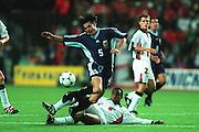 PAUL INCE & MATIAS ALMEYDA.ENGLAND V ARGENTINA.30/06/1998.DH80A15C