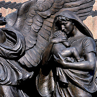 Soldiers&rsquo; and Sailors&rsquo; Monument Detail in Des Moines, Iowa<br />
