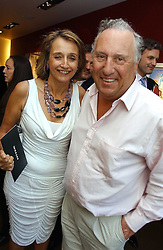FREDERICK & SANDY FORSYTHE at a private view of artist Damian Elwes work 'Artists Studios' held at Scream, 34 Bruton Street, London W1 on 29th June 2006.<br /><br />NON EXCLUSIVE - WORLD RIGHTS