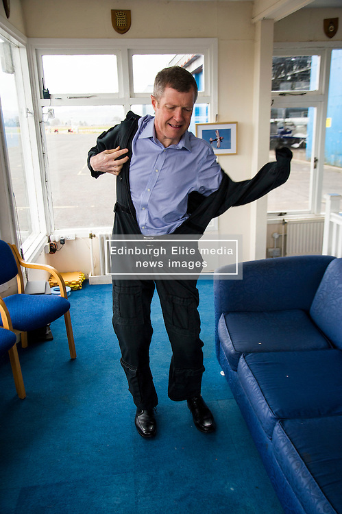 Pictured: Willie Rennie<br /> Scottish Liberal Democrat leader Willie Rennie took to the skies as he joined the UK Civil Air Patrol for a training flight in Perth. Mr Rennie took the opportunity to set out Liberal Democrat plans to restore local accountability and decision making within Police Scotland. The UK Civil Air Patrol provides airborne assistance for agencies, groups or individuals who would otherwise not have access to such a facility. Until 2013 the service regularly assisted Police officers with air searches in missing person cases. This ended following the creation of Police Scotland.  <br /> Ger Harley   EEm 12 April 2016