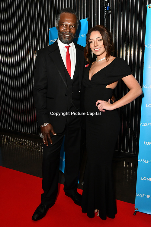 Levi Roots and Lois Bowden attend Awareness gala hosted by the Health Committee with live music and poetry performances at City Hall at The Queen's Walk, London, UK. 18 March 2019.