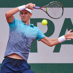 Kevin Anderson of South Africa during Day 7 of the French Open 2018 on June 2, 2018 in Paris, France. (Photo by Baptiste Fernandez/Icon Sport)