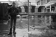 Nev in Old Wycombe Market, UK, 1980's