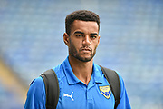Oxford United Defender, Curtis Nelson (5) during the EFL Sky Bet League 1 match between Portsmouth and Oxford United at Fratton Park, Portsmouth, England on 18 August 2018.