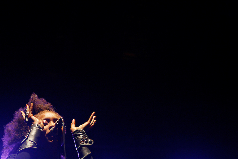 Cimiez, Nice. France. July 19th 2006..Erykah Badu performs at the Nice Jazz Festival (Scène Jardin)