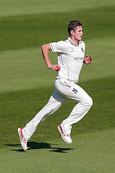 Mark Adair of Warwickshire in action - Mandatory byline: Rogan Thomson/JMP - 07966 386802 - 22/09/2015 - CRICKET - The County Ground - Taunton, England - Somerset v Warwickshire - Day 1 - LV= County Championship Division One.