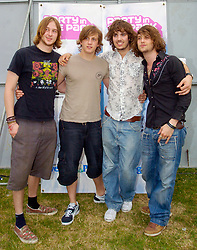 Rooster an English hard rock band from London play Party In The Park Temple Newsome Leeds 17th July 2005<br />