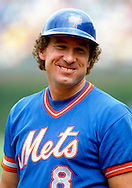 CHICAGO - 1986:  Gary Carter of the New York Mets looks on prior to an MLB game against the Chicago Cubs at Wrigley Field in Chicago, Illinois.  Carter played for the Mets from 1985-1989.  (Photo by Ron Vesely)