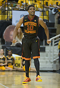 Dec 19, 2013; Long Beach, CA, USA; Southern California Trojans guard Pe'Shon Howard (10) celebrates after a 3-point basket against the Long Beach State 49ers at Walter Pyramid. Long Beach State defeated USC 72-71.