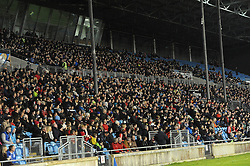 A great crowd attended the County senior football final at McHale park.<br /> Pic Conor McKeown