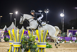 EHNING Marcus (GER), Funky Fred<br /> Doha - CHI Al SHAQAB 2020<br /> Int. jumping competition against the clock (1.50/1.55 m) - CSI 5*<br /> Big Tour<br /> 27. Februar 2020<br /> © www.sportfotos-lafrentz.de/Stefan Lafrentz