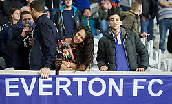 LILLE, FRANCE - Thursday, October 23, 2014: Everton supporters during the UEFA Europa League Group H match against Lille OSC at Stade Pierre-Mauroy. (Pic by David Rawcliffe/Propaganda)