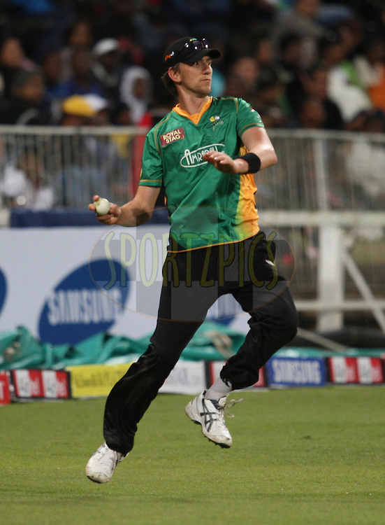 Michael Mason during match 3 of the Airtel CLT20 between The Chennai Superkings and the Central Stags held at Kingsmead Stadium in Durban on the 11 September 2010..Photo by: Steve Haag/SPORTZPICS/CLT20.