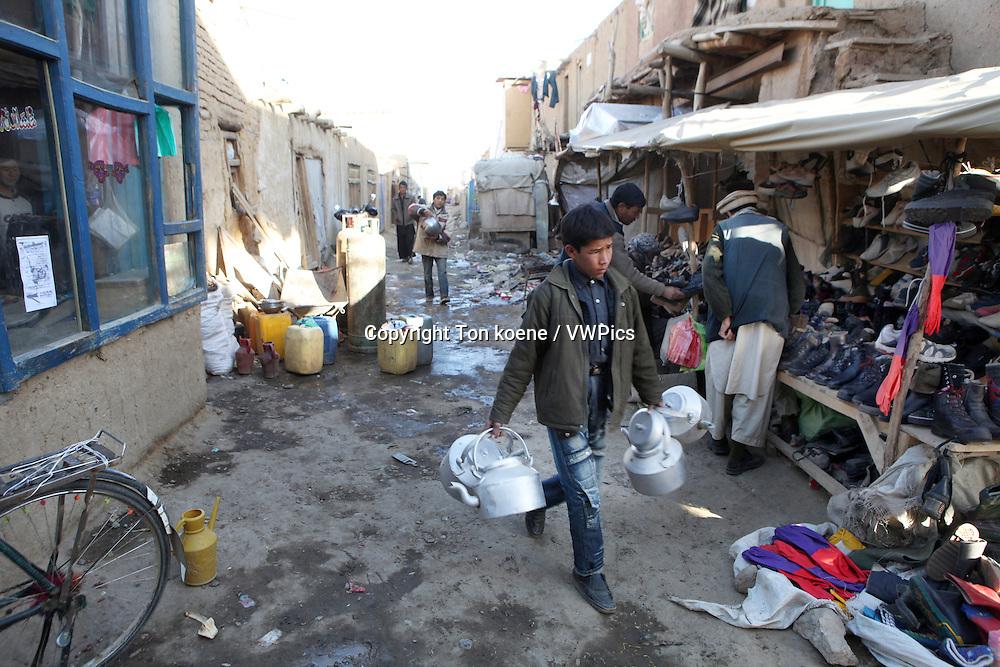 shop in Bamyan, Afghanistan