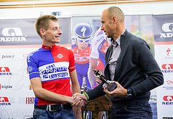 Tomaz Grm, president of KZS and Tomaz Nose, rider of KK Adria Mobil when he retires as a professional cycling athlete, on November 6, 2014 in Cesca vas, Novo mesto. Foto: Vid Ponikvar / Sportida