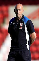 Reading Manager Jaap Stam arrives at Swindon Town for the preseason friendly against Swindon Town ahead of the Sky Bet Championship season - Mandatory by-line: Robbie Stephenson/JMP - 19/07/2016 - FOOTBALL - County Ground - Swindon, England - Swindon Town v Reading - Pre-season friendly