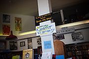 San Francisco, April 2 2012 - Inside City Lights book store.