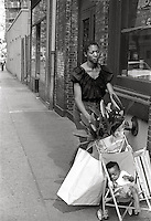 Street scene San Francisco California 1060's
