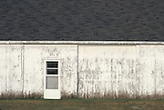 side of old barn