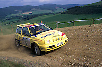 Mobil 1/RAC British Rally Championship 1997. RSAC Scottish Rally. Tapio Laukkanen / Risto Mannisenmaki. SBG Sport. VW Golf GTi Kit Car. World Copyright: Peter Taylor/PSP. Copy of publication required for printed pictures. Every used picture is fee-liable..