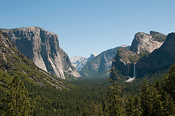 Yosemite Valley from Tunnel Viewpoint, Yosemite National Park, California, USA.  Photo copyright Lee Foster.  Photo # california122290