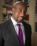 Reverend Dr. Raphael Gamaliel Warnock, Senior Pastor for  the Ebenezer Baptist Church in Atlanta. 1/12/18. Photo credit: ©2018 Ellis Vener / Ellis Vener Photography.