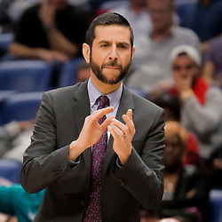 Apr 3, 2019; New Orleans, LA, USA;  Charlotte Hornets head coach James Borrego during the second half against the New Orleans Pelicans at the Smoothie King Center. Mandatory Credit: Derick E. Hingle-USA TODAY Sports