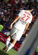 Javier Pastore of PSG.<br /> Toulouse v Paris Saint Germain (1-3), Ligue 1, Stade Municipal, Toulouse, France, 28th August 2011.