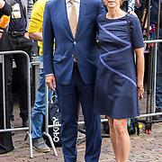 NLD/Den Haag/20180918 - Prinsjesdag 2018, Sybrand van Haersma Buma en partner