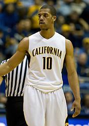 February 27, 2010; Berkeley, CA, USA;  California Golden Bears forward Jamal Boykin (10) during the first half against the Arizona State Sun Devils at Haas Pavilion. California defeated Arizona State 62-46.