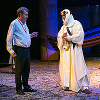 Ross by Terrance Rattigan<br /> Director Adrian Noble with<br /> Joseph Fiennes as T.E. Lawrence<br /> Chichester Festival Theatre, Chichester<br /> 7 June 2016