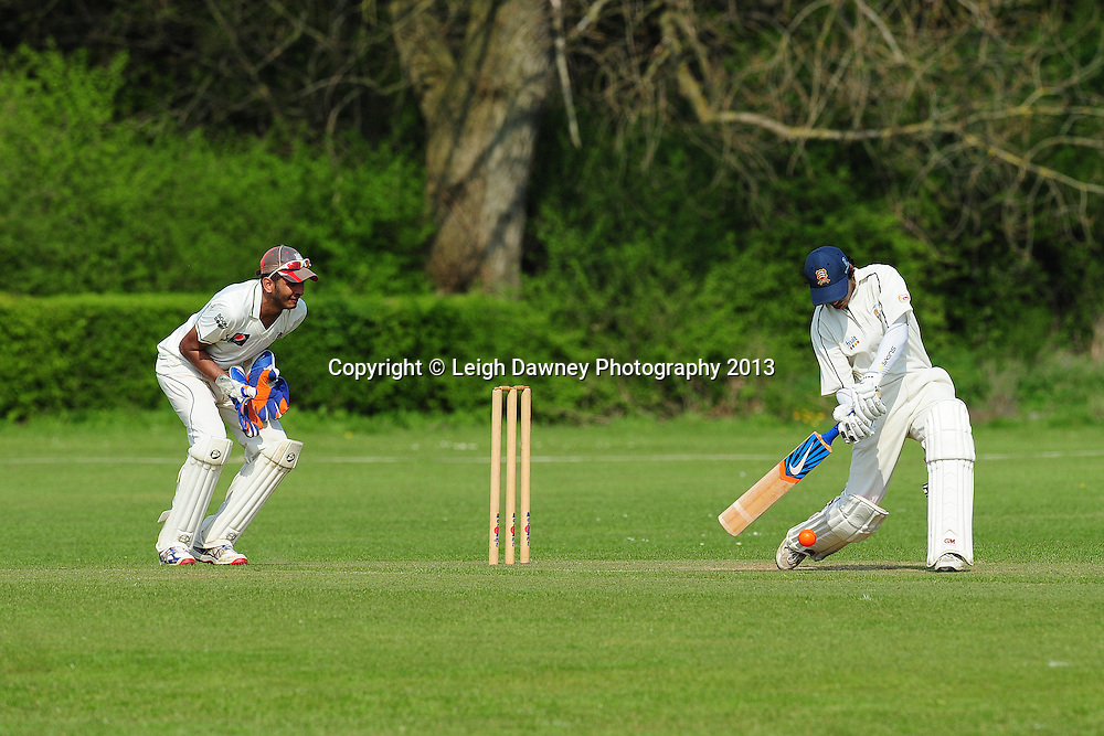Hightlights from Gidea Park & Romford Cricket Club v Old Brentwoods, Dukes Essex T20 at Gidea Park & Romford Cricket ground. 06.05.13. Credit © Leigh Dawney Photography 2013.