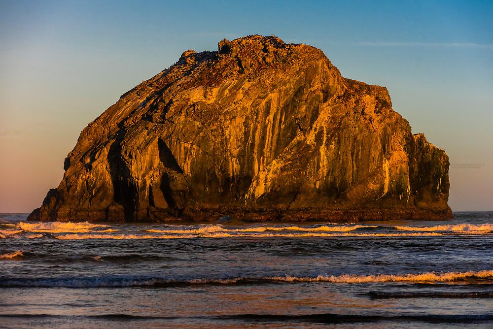Face Rock, Bandon Beach, Oregon USA.
