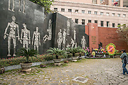 "Hanoi, Vietnam, Hoa Lo Prison, was a prison used by the French colonists in Vietnam for political prisoners, and later by North Vietnam for prisoners of war during the Vietnam War when it was sarcastically known to American prisoners of war as the ""Hanoi Hilton"". Now a war museum"