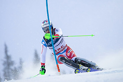 11.02.2019, Aare, SWE, FIS Weltmeisterschaften Ski Alpin, alpine Kombination, Herren, Slalom, im Bild Luca Aerni (SUI) // Luca Aerni of Switzerland during the Slalom competition of the men's alpine combination for the FIS Ski World Championships 2019. Aare, Sweden on 2019/02/11. EXPA Pictures © 2019, PhotoCredit: EXPA/ Johann Groder