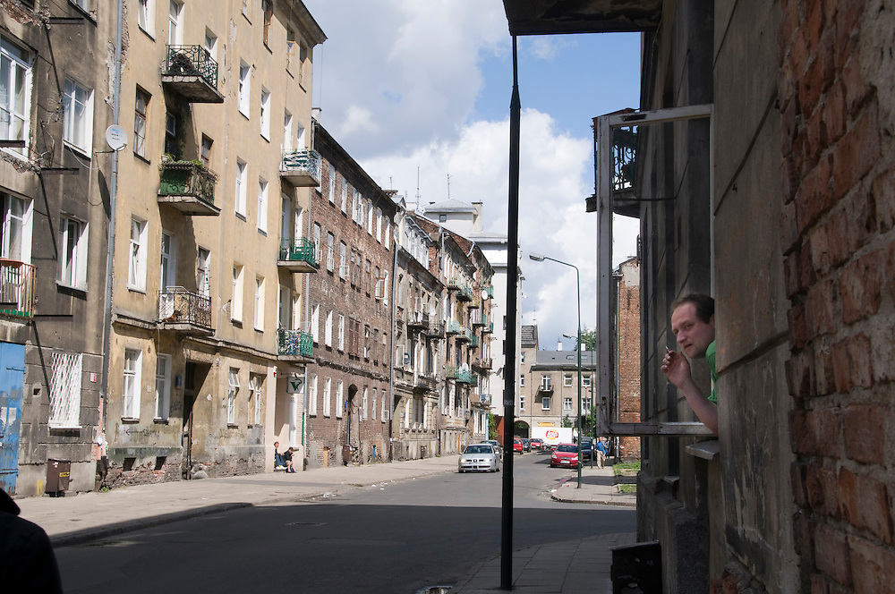 "Warsaw, Poland - May, 2009 - A street in Praga where Roman Polanski shot for ""The Pianist"" and an air of old Warsaw remains..Photo © Susana Raab 2009"