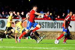 Bristol Rovers' Neal Trotman - Photo mandatory by-line: Neil Brookman - Mobile: 07966 386802 - 11/10/2014 - SPORT - Football - Aldershot - Recreation Ground - Aldershot Town v Bristol Rovers - Vanarama Football Conference