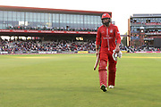 Lancashires Arron Lilley scored 79 during the Vitality T20 Blast North Group match between Lancashire County Cricket Club and Yorkshire County Cricket Club at the Emirates, Old Trafford, Manchester, United Kingdom on 20 July 2018. Picture by George Franks.