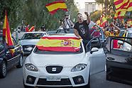 BCN: Pro Spain motorcade, 28.10.17