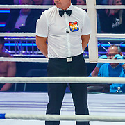NLD/Amsterdam/20181031 - Boxingstars 2018, 1e aflevering, scheidsrechter