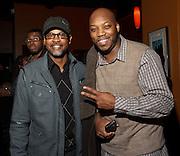 Eldon T Jones and Tyrone Hendrix at Jimmy Maks