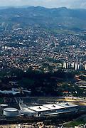 Belo Horizonte_MG, Brasil...Imagens aereas do Expominas (Centro de Feiras e Exposicoes George Norman Kutova)...The aerial view of Expominas (Centro de Feiras e Exposicoes George Norman Kutova)...FOTO: BRUNO MAGALHAES /  NITRO