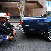 Parade of Nations - Mayor Mark Mallory meets the Lincoln. The 2012 World Choir Games kicked off the second week of competition with an impressive parade through the streets of downtown Cincinnati. The Games, which started on July 4, continue through July 14, bringing together more than 360 choirs to the Cincinnati area. (Photo: Sean Hughes)