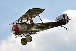 May 25, 2019 - Jaromer, Czech Republic - Sotwith Pup during aerobatic show at Jaromer Airport in the Czech Republic...The Sopwith Pup was a British single-seater biplane fighter aircraft built by the Sopwith Aviation Company. (Credit Image: © Slavek Ruta/ZUMA Wire)