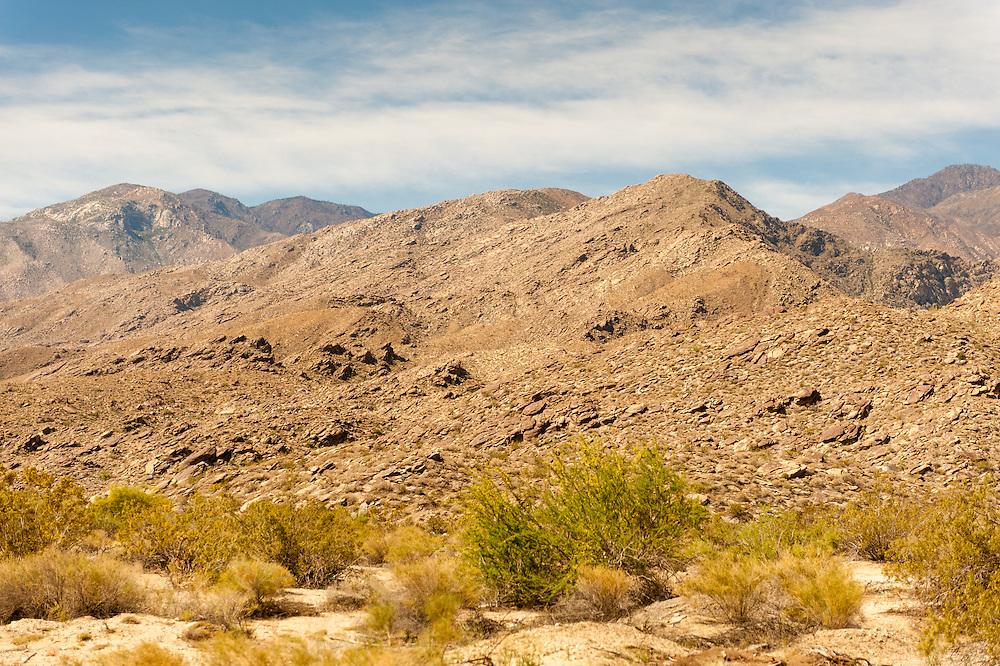Hills near Palm Springs, California