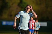 Lewes FC Stacy Freeman during the Ryman League - Div One South match between Dorking Wanderers and Lewes FC at Westhumble Playing Fields, Dorking, United Kingdom on 28 January 2017. Photo by Jon Bromley.