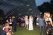 ZAHIA DEHAR; , 2016 SERPENTINE SUMMER FUNDRAISER PARTY CO-HOSTED BY TOMMY HILFIGER. Serpentine Pavilion, Designed by Bjarke Ingels (BIG), Kensington Gardens. London. 6 July 2016