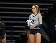 Samford Volleyball Kelsi Hobbs (8)Samford Volleyball Kelsi Hobbs (8) during the game against Alabama Sept. 7,2017 in Homewood, AL.  Mandatory Credit: Marvin Gentry