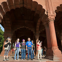 India Spring Break, Delhi, Red Fort,  John Kelly photo